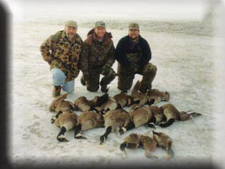 Goose Hunting Guide Services